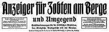 Anzeiger für Zobten am Berge und Umgegend 1917-01-31 Jg. 33 Nr 9