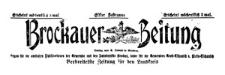Brockauer Zeitung 1911-01-15 Jg. 11 Nr 7