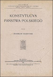 Konstytucya państwa polskiego