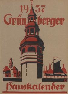 Grünberger Hauskalender: Heimatkalender für die Kreise Grünberg und Freystadt auf das Jahr 1937, 26. Ausgabe