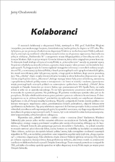 """Kolaboranci"""