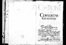 Archivum Conventus Nissensis Beatae Virginis Mariae ad Rosas Ordinis Fratrum Minorum Reformatorum Provinciae Bohemiae