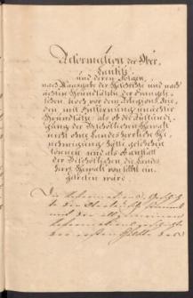 Gutachten in Betref der Consistorialgerechtsame ueber die Evangelischen in Oberlausitz