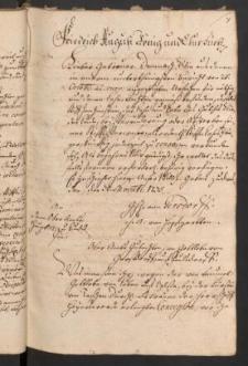 Sammlung verschiedener die Lehnssachen in Oberlausitz betreffender Schriften