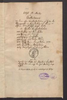 Collectanea de contributionibus antiquis Marchionum Brandenburgensium aetate et a regibus Bohemiae usque in annum 1582