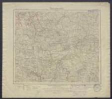 Karte des Deutschen Reiches 1:100 000 - 102. Wormditt