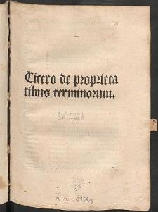 De proprietatibus terminorum