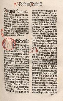 Confessionale: Defecerunt, Lat. : Cum Titulo de restitutionibus.