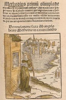 Revelationes divinae a sanctis angelis factae, Lat. Tractatus super Methodium / Wolfgangus Aytinger, Ed. Sebastianus Brant.