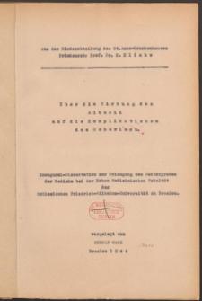 Über die Wirkung des Albucid auf die Komplikationen des Scharlach.