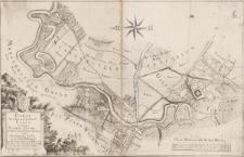 Carte von dem zur Herrschaft Lissa gehörigen Kirchen-Busche, und denen daran stoßenden Environs von Stabelwitz, Lissa, und Goldschmiede dem Herrn Reichs Grafen von Maltzan gehörig