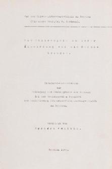 Die Philosophie in ihrer Einwirkung auf die Dermatologie.