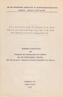 Zur Klinik und Histologie der Neurofibrombildung an Lid und Bindehaut des Augapfels.