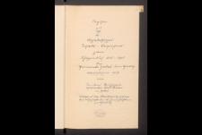 Zodler Schoeppenbuecher. Inhaltsverzeichnis. Bd. 3