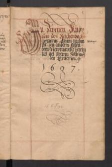 Goerlitzische Jahrbuecher von 1576-1607