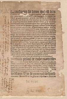 Iudicium Lipsiense ad annum 1484, Lat.