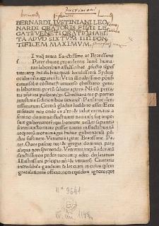 Oratio exhortatoria contra Turcos.