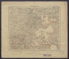 Karte des Deutschen Reiches 1:100 000 - 105. Rastenburg