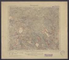 Karte des Deutschen Reiches 1:100 000 - 106. Grabowen
