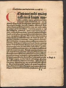 Oratio invocatoria in missa quodlibet Lipsiensi.