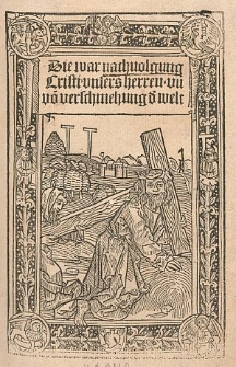 De imitatione Christi, Germanice: Die wahre Nachfolgung Christi
