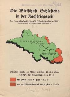 Die Wirtschaft Schlesiens in der Nachkriegszeit