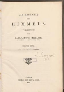 Die Mechanik des Himmels. Bd. 1