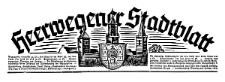 Heerwegener Stadtblatt 1941-04-25 Jg. 59 Nr 33