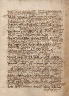De libris Sententiarum Petri Lombardi versu hexametrico (cum commentario interlineari): f. IIr-IIIr