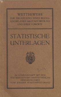 Statistische Unterlagen