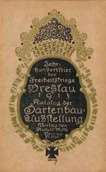 Amtlicher Katalog der Gartenbau-Ausstellung