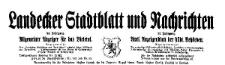 Landecker Stadtblatt und Nachrichten. Allgemeiner Anzeiger für das Bieletal. Amtliches Anzeigenblatt der städtischen Behörden. 1925-11-07 Nr 88