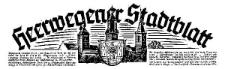 Heerwegener Stadtblatt 1940-01-02 Jg. 58 Nr 1